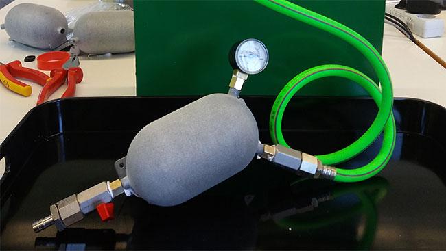 Druckbehälterproduktion